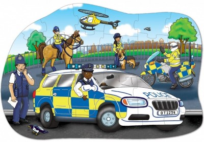 Orchard Toys Police Car Puzzle