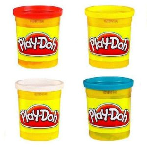 Play-Doh 4 Tub Pack