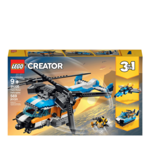 LEGO Creator 3in1 Twin Rotor Helicopter - 31096