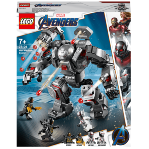 LEGO Marvel Avengers Endgame War Machine Buster - 76124