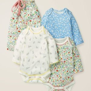 3 Pack Bunnies Bodies Multi Baby Boden, Multi