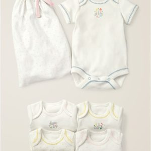 5 Pack Bunnies Bodies Multi Baby Boden, Multi