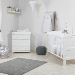 Alby Cot Bed and Dresser Set