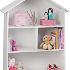 Argos Home Mia White Dolls House Bookcase