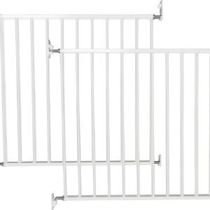 BabyDan No Trip Safety Gate - Twin Pack