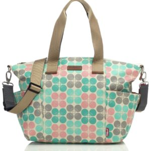 Babymel Evie Pastel Dot Changing Bag - Floral