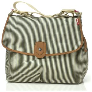 Babymel Satchel Changing Bag - Navy Stripe