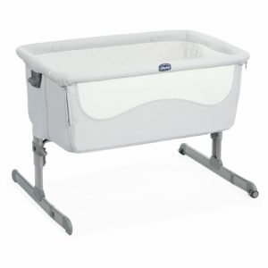 Chicco Next2Me Bbedside Sleeper Crib - Light Grey