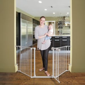 Dreambaby Ava 9cm Wide Extension Fits Ava Gate White G2095