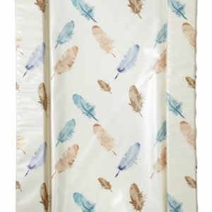 East Coast Nursery Feathers Changing Mat - Blue