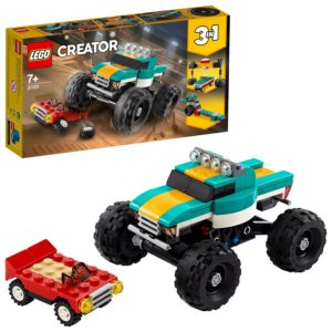 LEGO Creator 3-in-1 Monster Truck Demolition Car Toy - 31101