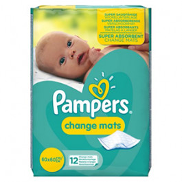 Pampers Changing Mats - 12 Mats